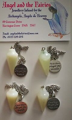 Code 428 Archangel BLESSINGS FROM HEAVEN Jade Infused Pendulum 1 Piece only you