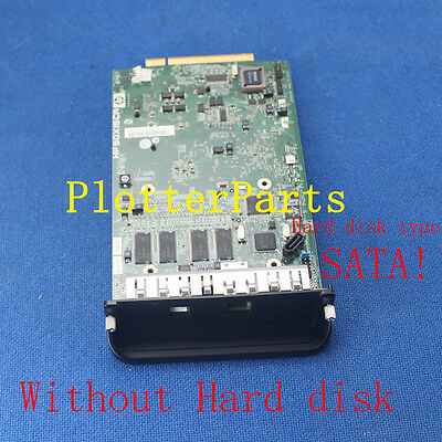 Q5670-60021 Q5669-60576 Formatter board assembly for HP DJ T1100 T610 Z2100 Used