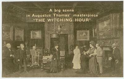 1908 theatre stage play The Witching Hour by Augustus Thomas ad pc