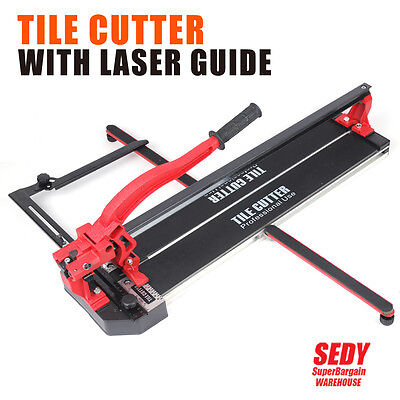Professional Tile Cutter With Laser Guide Trade Tough 600MM Tile Cutting Machine