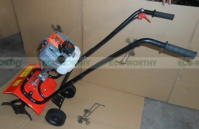 "ECO (9"") 52CC 2.2HP 1.9KW 2-Stroke Forward Rotating Front Tine Mini Tiller"