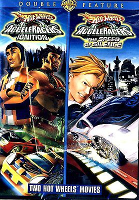 Hot Wheels - Double Feature (DVD, 2009)