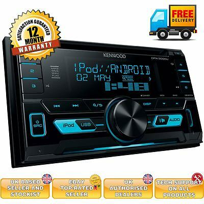 Kenwood DPX-3000U CD MP3 USB Double Din Car Stereo iPod iPhone Android Player
