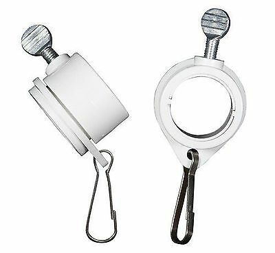 Valley Forge Flag 1-Inch Diameter Rotating Mounting Rings 2-Piece