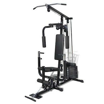 #bNew Home Fitness Multi Gym Bench Utility Strength Equipment Weights Machine