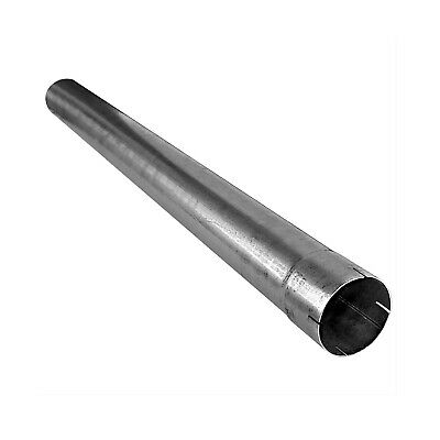 """AP Exhaust 214A7514 Bendable Aluminized Straight 7.5/' Tubing with 2.25/"""" Outlet"""