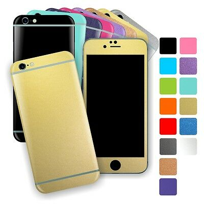 For iPhone 6S & 6S Plus MATT Matte Wrap Sticker Decal Cover Protector Skin
