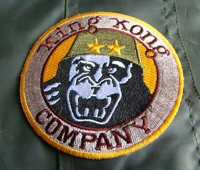 Taxi Driver Deniro Travis Bickle King Kong Company Embroidery Military Patch