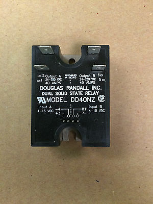 Douglas Randall Model DD40NZ Dual Solid State Relay