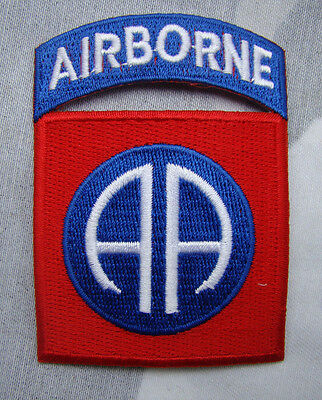 WW2 US ARMY Vietnam 82ND AIRBORNE DIVISION PARATROOPER SHOULDER MILITARY PATCH