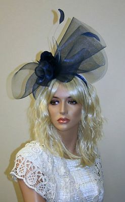 Women's Feather Fascinator / Headpiece, Wedding Accessories - Please choose