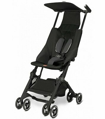 Goodbaby GB Pockit Compact Stroller Black Folds Smaller than Nano New Open Box!!