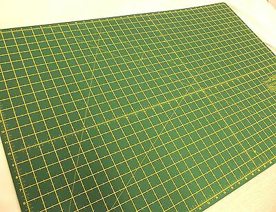 Quality Double Sided Imperial Metric Non Slip Self Healing Cutting Mat - A3