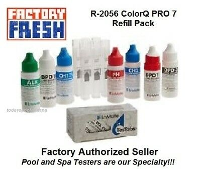 LaMotte R-2056 ColorQ PRO 7 Refill Pack, CH-2 Exp 3/2018 or later