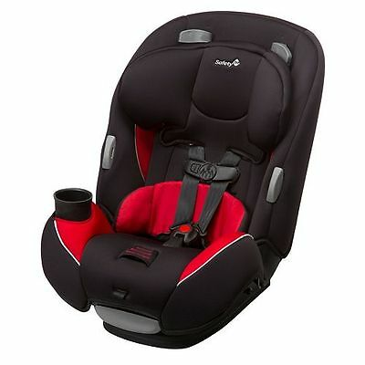 Safety 1st Continuum 3-In-1 Convertible Car Seat ~~ Chili Pepper ~~ Brand New!!!