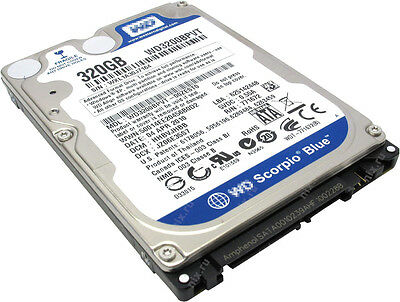 NEW WD3200BPVT  2.5 inch 320GB SATA 5400RPM 8MB HDD Hard Driver For Laptop