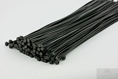 Cable Ties / Zip Ties Black - Various Sizes Available | Quality Cable Ties