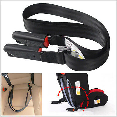 Universal Car Adjustable Baby Safety Seat Soft Link Belt Anchor Holder Isofix