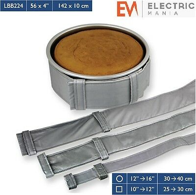 "PME Cake Level Baking Cooking Bands Belt Square / Round Tin Pan 56 "" x 4 "" Inch"