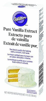 Wilton PURE VANILLA Extract  Cake Baking Decorating Flavouring 4oz