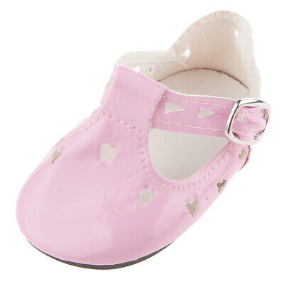 "Pink Mary Jane Shoes for 18"" Our Generation American Girl Journey Doll Party"