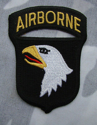 Ww2 Us Army 101St Airborne Division Paratrooper Shoulder Eagles Patch Badge