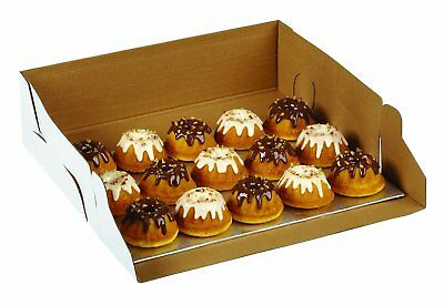 Wilton 2 Pk CORRUGATED 10 X 14 X 4 Inch Cakes Cupcakes Muffins Decorating Box