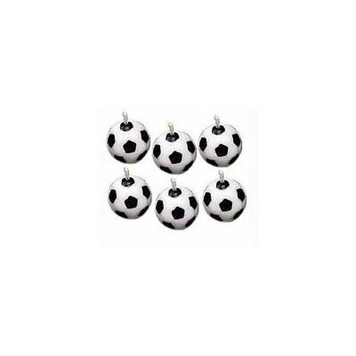 Wilton SOCCER BALL Football Candle Sport Children Birthday Party Cake Decoration