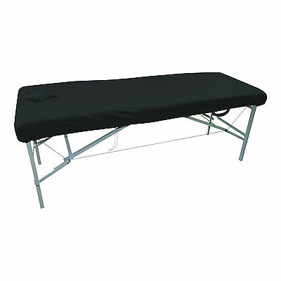 Couch Cover, Black with Facehole/Massage/Table