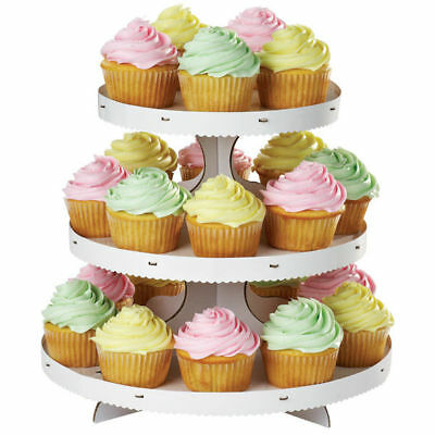 Wilton Cupcakes STAND Mini Cakes Desserts Treats Personalize Disposable Display