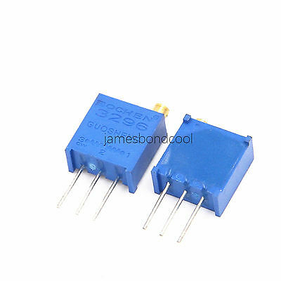 3296W 100 Ohm to 1M Ohm Trimpot Trimmer Potentiometer Variable Resistor 25 Turn
