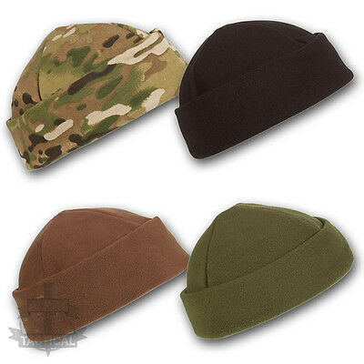 Army Military Tactical Beanie Hat Field Watch Cap Docker Fleece