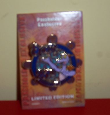 2007 Le Disney Passholder Exclusive Spinner Pin Epcot 25Th. Anniversary  Figment