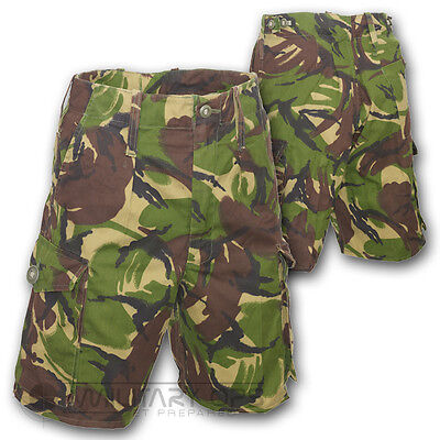 Camo Work Shorts Dpm Camo Soldier 95 British Army Trs Grade 1 Cadets Fishing