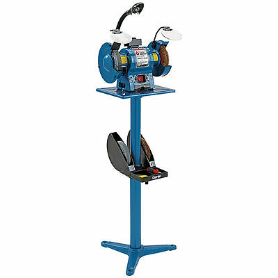 Clarke BGS2 Bench Grinder Stand, Multi slotted table and pre drilled base