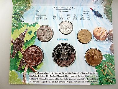 Royal Australian Mint Coin Collection 1993 WATER IS LIFE Uncirculated Set