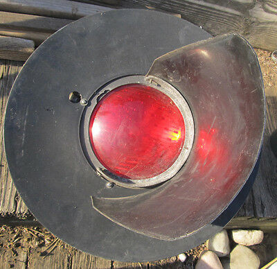 """Vintage RACO Products Engineered for Long Life Railroad Crossing Signal 8"""" PARTS"""