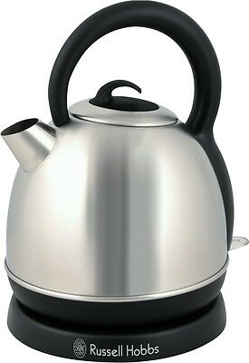 NEW Russell Hobbs Eden Dome Stainless Steel Kettle 2200W 1.8 Litre RHK4W