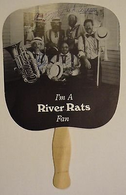 River Rats band fan - signed by band members