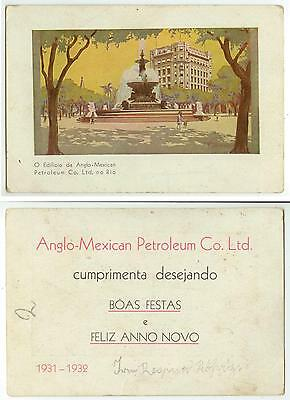 1931 Anglo-Mexican Petroleum Co Ltd trade card