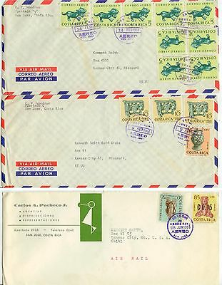 1960s Costa Rica covers to US