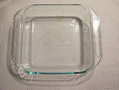 Pyrex Ovenware 8 x 8 in 2 Quart Square Baking Dish Clear Glass