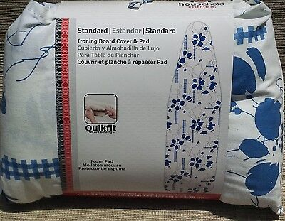 Household Essentials Heidi Ironing Board Cover And Pad 80024 Storage Pocket