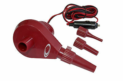 Outdoor Connection 12V Air Pump - inflates and deflates!