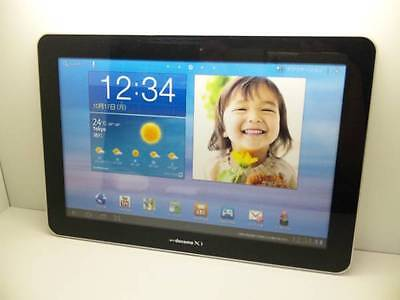 NTT docomo SC-01D GALAXY Tab10.1 PLUS LTE Non-working Display Phone