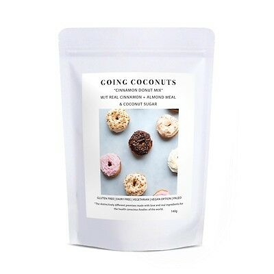 Going Coconuts - CINNAMON DONUT MIX 190g