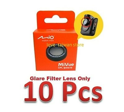 X10 PCS (DHL Free Ship)- New Mio Glare Filter Lens for Mio Mivue 388 368 528 538