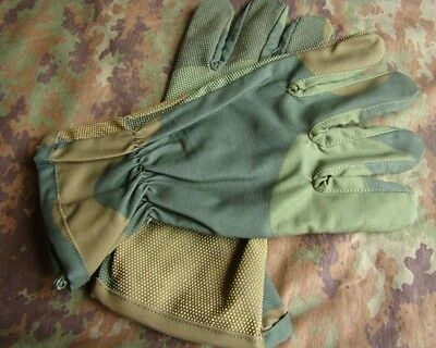 Tactical Field Training Slip-Proof Military Gloves Woodland Camo