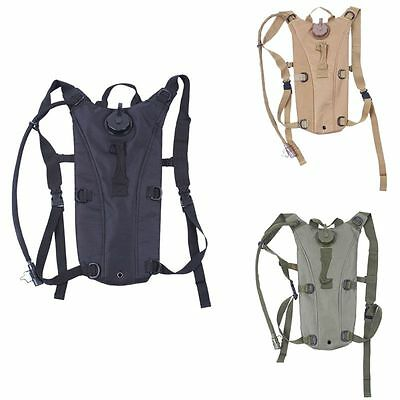 3L Hydration System Pouch Backpack Bladder Climbing Hiking Survival Water Bag