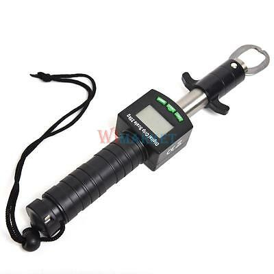 Fishing Gripper W/25kg/55lb Digital Scale+Tape Measure Multifunctional Fish Grip